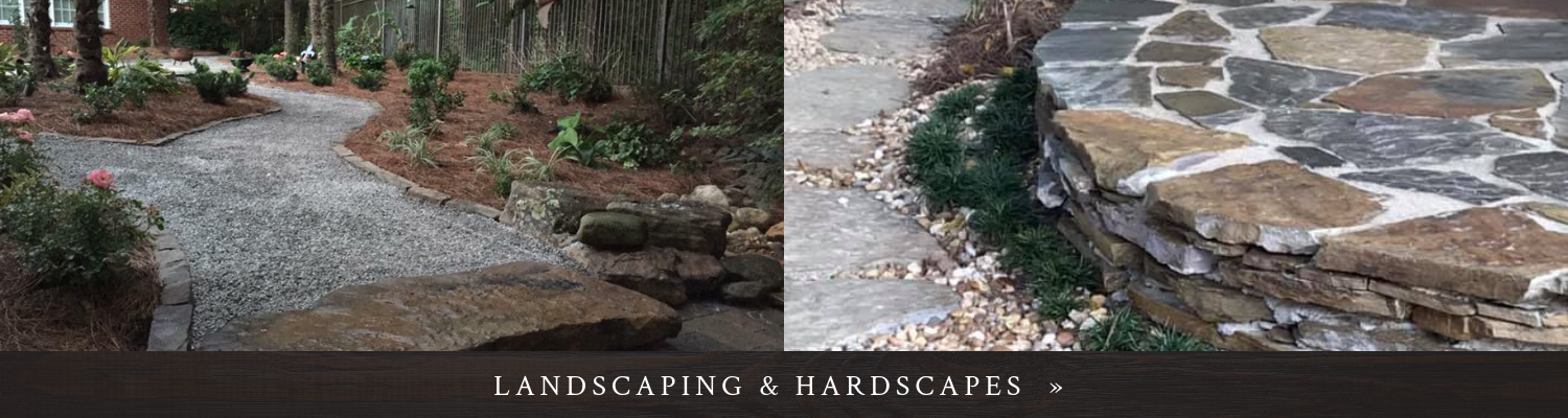 Click here to see landscaping & hardscapes